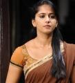 Damarukam Actress Anushka in Half Saree Cute Stills