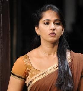 Anushka Half Saree Cute Stills in Damarukam