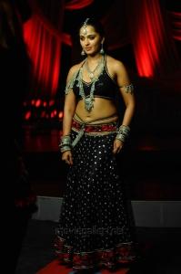 Actress Anushka Shetty Hot Stills in Damarukam Movie