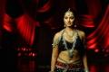 Telugu Actress Anushka Hot Spicy Black Dress Photos
