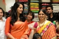Anushka launches Rajahmundry Kalamandir Showroom  Photos