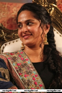Actress Anushka Photos @ Lingaa Audio Release Function