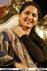 Actress Anushka Photos @ Lingaa Audio Launch Function