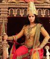 Actress Anushka in Rudrama Devi Movie First Look Photos