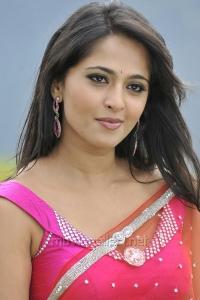 Actress Anushka Shetty Hot Saree Photos in Damarukam Movie