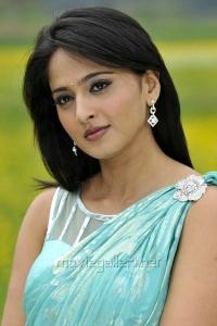 Actress Anushka in Saree Stills from Damarukam Movie