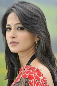 Cute Anushka Shetty in Saree Photos from Damarukam Movie