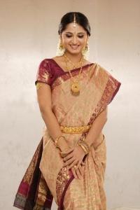 Anushka Shetty Latest Saree Stills