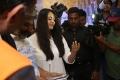 Actress Anushka Cute Photos @ The World of Baahubali Press Meet