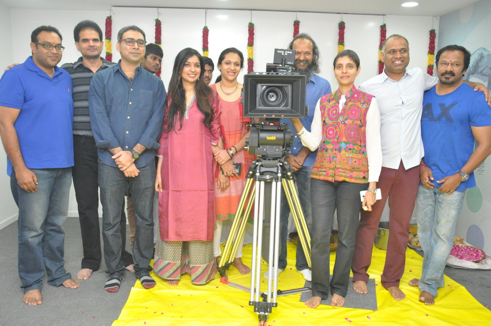 Anushka Size Zero Movie Launch Photos