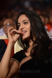 Anushka Latest Black Saree Stills @ Varna Movie Audio Launch