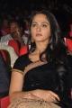 Actress Anushka Shetty Black Saree Stills @ Varna Audio Launch