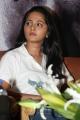 Tamil Actress Anushka Cute in White T-Shirt Photos