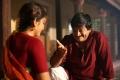Madhavi Latha, Ghazal Srinivas in Anushtanam Movie Photos