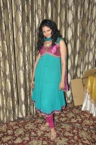 Actress Anuya Bhagvath in Churidar Photos