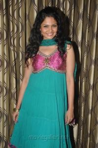 Actress Anuya Bhagvath in Churidar Stills