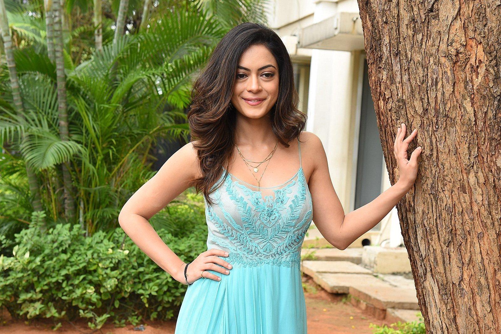 Telugu Actress Anya Singh Photos @ Ninu Veedani Needanu Nene Trailer Launch