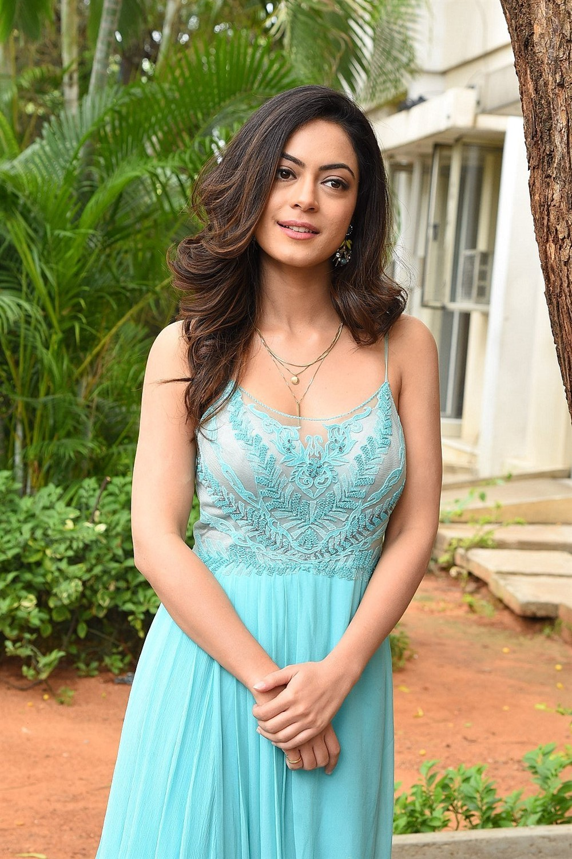 Telugu Heroine Anya Singh Photos @ Ninu Veedani Needanu Nene Trailer Launch