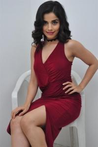 Actress Aparna Bajpai in Red Dress Stills