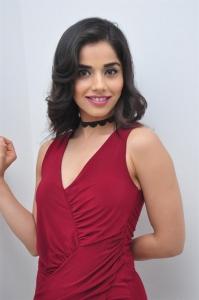 Actress Aparna Bajpai Red Dress Stills @ S2 Women Showroom Launch