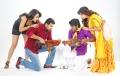 Trisha, Jayam Ravi, Soori, Anjali in Appatakkar Tamil Movie Stills