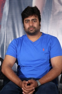 Nara Rohit @ Appatlo Okadundevadu Success Meet Stills