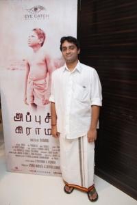 Music Director Vishal @ Appuchi Graamam Movie Audio Launch Stills