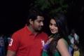 Surya Teja, Harshika Poonacha @ Appudala Ippudila Movie Working Stills