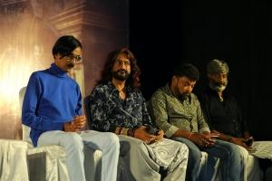 Manobala, U K Senthil Kumar, Vichu Viswanath @ Aranmanai 3 Press Meet Stills