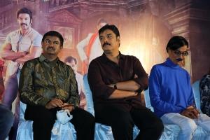 Sundar C, Manobala @ Aranmanai 3 Press Meet Stills