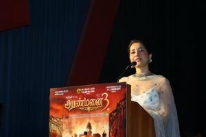 Raashi Khanna @ Aranmanai 3 Press Meet Stills