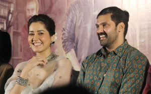 Raashi Khanna, Arya @ Aranmanai 3 Press Meet Stills