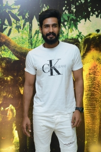 Vishnu Vishal @ Aranya Movie Teaser Launch Stills