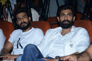 Vishnu Vishal, Rana Daggubati @ Aranya Movie Teaser Launch Stills