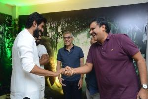 Rana, Manav Sethi @ Aranya Movie Teaser Launch Stills