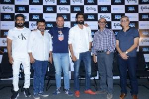 Aranya Movie Teaser Launch Stills
