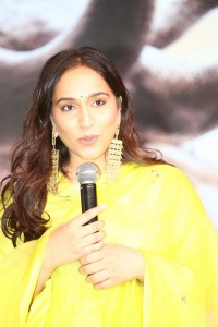 Actress Zoya Hussain @ Aranya Movie Pre Release Event Stills