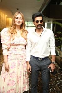 Jwala Gutta, Vishnu Vishal @ Aranya Movie Pre Release Event Stills