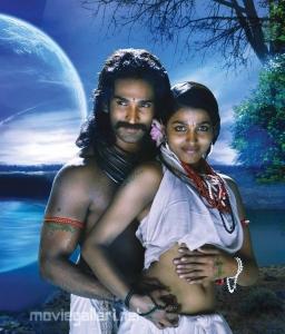 Aadhi, Dhansika @ Aravaan Movie Hot Stills