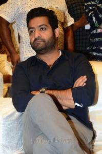 Jr NTR @ Aravinda Sametha Pre Release Event Stills