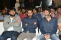 Thaman, Jr NTR, Trivikram Srinivas @ Aravinda Sametha Veera Raghava Success Meet Photos HD