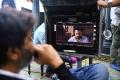 Trivikram Srinivas @ Aravinda Sametha Working Stills HD