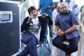 Trivikram Srinivas, S Radha Krishna @ Aravinda Sametha Working Stills HD