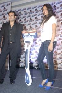 Arbaaz Khan,Dipika Pallikal At Gillette Shave or Crave Launch