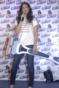Squash Player Dipika Pallikal At Gillette Shave or Crave Launch