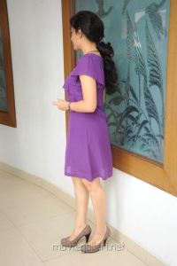 Actress Archana (Veda) Hot in Purple Color Skirt