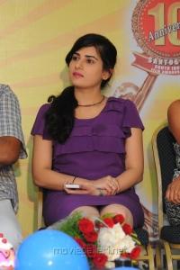 Telugu Actress Archana at Santosham Awards 2012 Press Meet