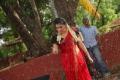 Actress Veda Archana Hot Red Saree @ Kamalatho Naa Prayanam