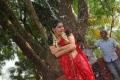Actress Veda Archana Sastry in Red Saree @ Kamalatho Na Prayanam