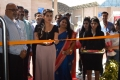 Archana film actress seen inaugurating Kitchen India Expo at Hitex organised jointly by Hitex and Traditions